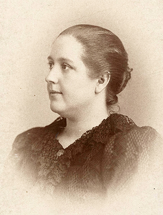An 1895 photograph of Lula Verlinda Martin McIver. Image from the University of North Carolina at Greensboro Digital Collections.