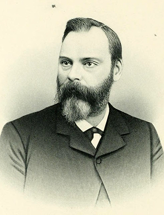 An engraving of Dr. James McKee published in 1892. Image from the Internet Archive.