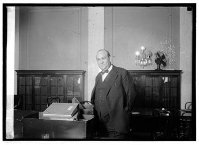Gaston B. Means, March 14, 1924.  From the National Photo Company Collection, Library of Congress Prints & Photographs Division, Online Catalog.