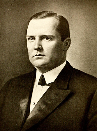 A photograph of Isaac Melson Meekins published in 1919. Image from the Internet Archive.