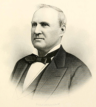 Engraving of Augustus Summerfield Merrimon, circa 1893. Image from Archive.org.