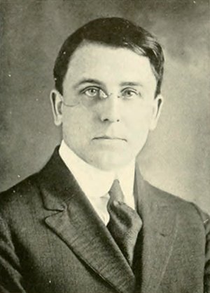 A photograph of Zeno Payne Metcalf from the 1919 North Carolina State University yearbook. Image from North Carolina State University.