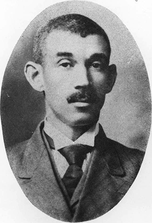 Dr. Aaron McDuffie Moore. Image from University Archives, James E. Shepard Memorial Library, North Carolina Central University.