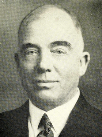 A photograph of Hight C Moore published in 1957. Image from the Internet Archive.