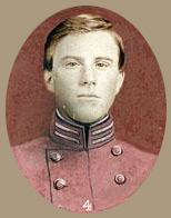 Retouched photograph of a young James Turner Morehead from a proof sheet for Clark's Regimental Histories, volume 3. Image from the North Carolina Museum of History.