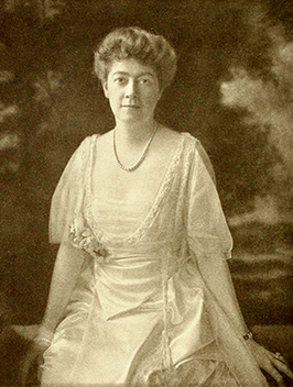 A photograph of John Motley Morehead, III's wife, Genevieve Margaret Birkhoff. Image from Archive.org.