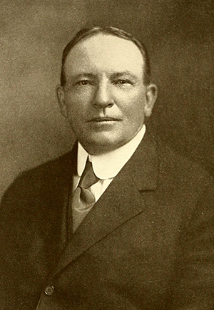 A portrait of John Motley Morehead, II by Lloyd Bronson, 1906. Image from Archive.org.
