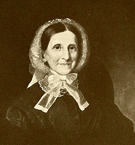 A portrait of John Motley Morehead's wife, Ann Eliza Lindsay Morehead, by William Garl Browne, 1855. Image from Archive.org.