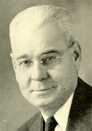 A photograph of Perry Morgan published in 1955