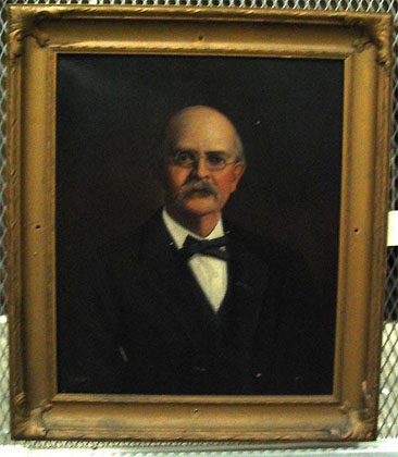 Portrait of Hugh Morson, Jr., by Louis Freeman, 1925.  Item H.1970,56.1 from the collections of the North Carolina Museum of History.  Image used courtesy of the North Carolina Department of Cultural Resources.