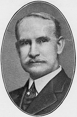 Photograph of Dr. John Peter Munroe, circa 1919. Image from the Government and Heritage Library collections, State Library of North Carolina.