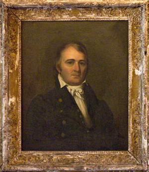 """Col. Hardy Murfree,"" oil portrait circa late 1700s, artist unknown. From the Tennessee Portrait Project."