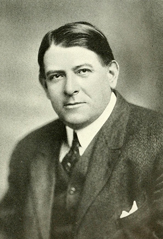 A photograph of Walter Murphy. Image from the Internet Archive.