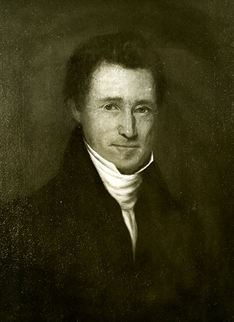 A photograph of an 1849 portrait of Abner Nash by J. Bogle. Image courtesy of the Southern Historical Collection, Wilson Library, University of North Carolina at Chapel Hill.