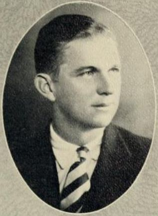 Senior portrait of William McNeal Nicholson, from the Trinity College of  Duke University yearbook <i>The Chanticleer</i>, Vol. XIV, published 1927 by the Senior Class, Duke University, Durham, NC.