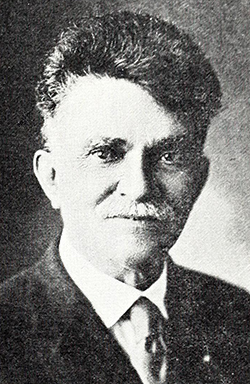 A photograph of M.C.S. Noble published in 1922. Image from Archive.org.