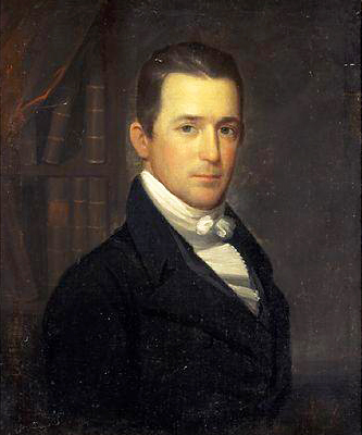 A portrait of Dr. James Norcom, Sr., attributed to Otis Bass. Image from the North Carolina Museum of History.