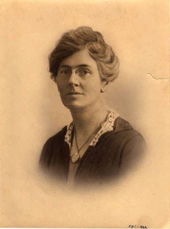 Olive Dame Campbell. Image courtesy of Western Carolina University Digital Collections.