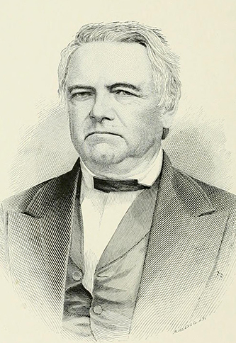 An engraving of James Walker Osborne (1811-1869) published in 1892. Image from the Internet Archive.