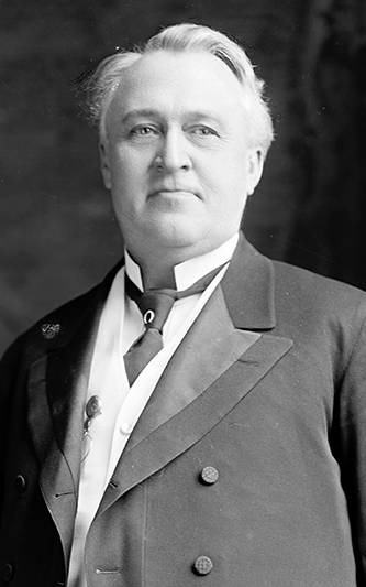 A photograph of Lee Slater Overman, circa 1905-1930. Image from the Library of Congress.