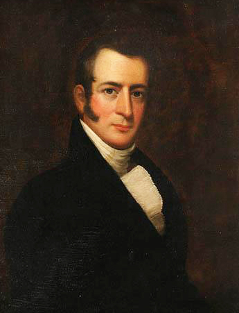 Portrait of John Owen by an unknown artist. Image from the North Carolina Museum of History.
