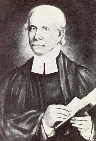 Photograph of a portrait of Reverend Charles Pettigrew. Image from Archive.org / N.C. Dept. of Archives and History.