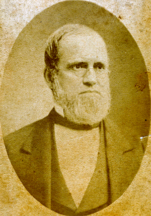 Photograph of professor Charles Phillips. Image from the North Carolina Collection Photographic Archives, University of North Carolina at Chapel Hill.