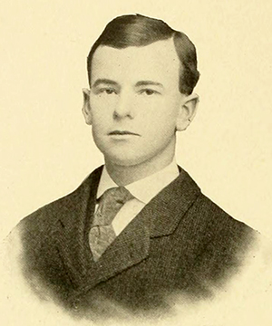 Joseph Ezekiel Pogue Jr.'s yearbook photograph from 1906. Image from the North Carolina Collection, University of North Carolina at Chapel Hill.