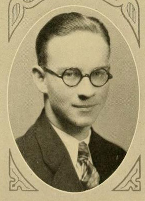 Image of Liston Pope, from The Chanticleer 1929, [p.97], published 1929 by Durham, N.C.: Duke University. Presented on Digital NC.