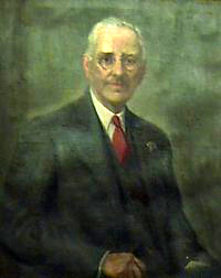 A portrait of Edwin McNeil Poteat. Image from Furman University.