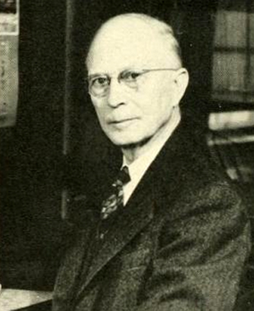 """Dr. W. F. Prouty.""  Photograph of William F. Prouty, from the 1949 University of North Carolina yearbook <i>The Yackety Yack,</i> p. 194.  Published by the Students of the University of North Carolina, Chapel Hill, N.C. Presented on DigitalNC."