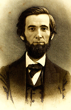 Methodist Minister Numa Fletcher Reid (1825-1873), father of Frank Lewis Reid and James Wesley Reid. Image from Archive.org.