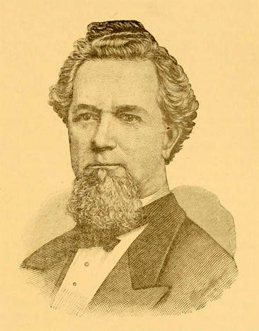Portrait of W. H. Rhodes, from Samuel Houston Dixon's <i>The Poets and Poetry of Texas,</i> p. 246-247, published 1885 by Sam H. Dixon & Co., Publishers, Austin, Texas.  Presented on Archive.org.