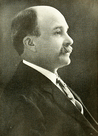 A photograph of Lunsford Richardson published in 1919. Image from the Internet Archive.