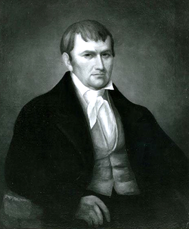 Portrait of James Robertson. Image from the North Carolina Museum of History.