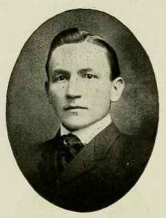 Image of Judge Buxton Robertson, from the Yackety Yack, [p.30], published 1905 by Chapel Hill, Publications Board of the University of North Carolina at Chapel Hill. Presented on Digital NC.