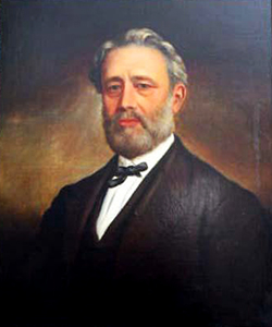A 1895 portrait ow William B. Rodman by W. G. Randall. Image from the North Carolina Museum of History.