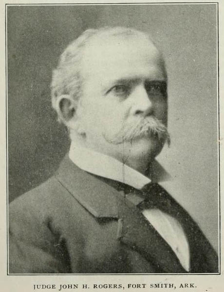 Image of John Henry Rogers, from Confederate Veteran, vol. 11, [p.262], published 1903 by Nashville, Tenn.: [S.A. Cunningham]. Presented on Internet Archive.