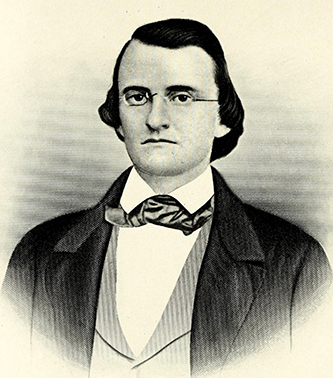 An engraving of Sion Hart Rogers published in 1917. Image from the Internet Archive / N.C. Goverment & Heritage Library.