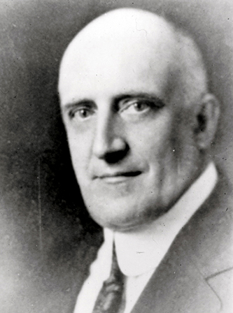 A photograph of Howard Edward Rondthaler circa 1925. Image from Digital Forsyth.