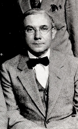 A photograph of Dr. Benjamin Franklin Royal, circa 1932-1938. Image from the Internet Archive / N.C. Government & Heritage Library.