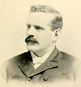 A photograph of James Edward Shepherd, circa 1893. Image from Archive.org.