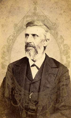 Photograph of Albert Micajah Shipp. Image from Flickr user Phillip Stone/Wofford Archives.
