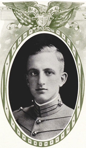 William Ewen Shipp, Jr. from The Howitzer, the yearbook of the West Point military academy, 1916. Image from the United States Military Academy.