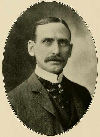 "A photograph of Francis Emanuel ""Frank"" Shober published in 1905. Image from the Internet Archive."