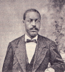 A photograph of James Francis Shober published in 1900. Image courtesy of the North Carolina Government & Heritage Library.