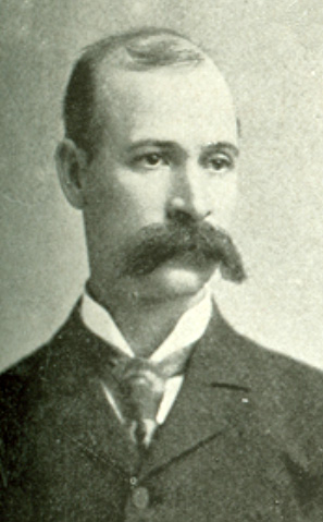 Photographic portrait of Alonzo Craig Shuford, from the Biographical Directory of the U.S. Congress, in E. L. Murlin's <i>United States Red Book</i>, published 1896, Albany, New York.