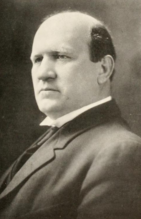 Image of Enoch Walter Sikes, Dean of Wake Forest College (University), from The Howler yearbook at Wake Forest College, [p. 10], published 1916 by Wake Forest College. Presented on Digital NC.