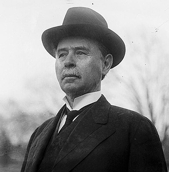Photograph of Furnifold McLendel Simmons, 1913. Image from the Library of Congress.