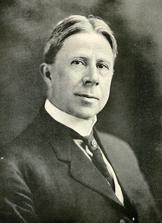 A photograph of John Humphrey Small published in 1919. Image from the Internet Archive.
